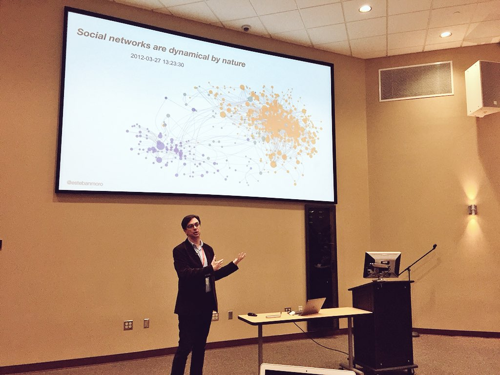 I was an invited speaker at NERCCS 2018 conference to talk about our work on the dynamics of strong ties
